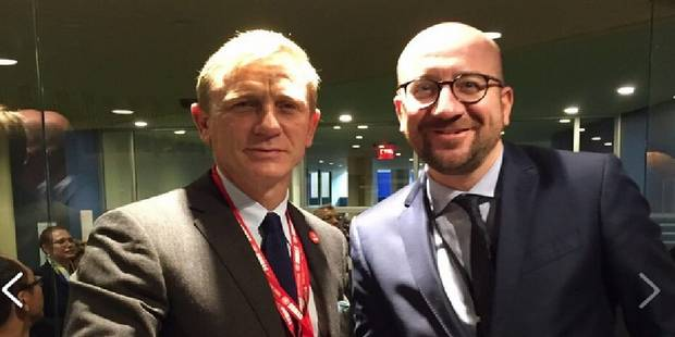 Charles Michel en compagnie de James Bond - La DH