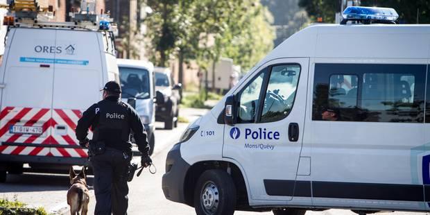 40 policiers pour une perquisition dans un camp de gens du voyage à Jemappes - La DH