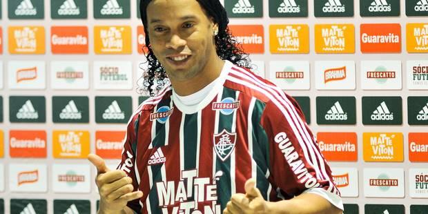 Ronaldinho quitte le Fluminense - La DH