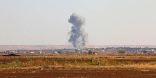 Premier bombardement russe en Syrie - La DH