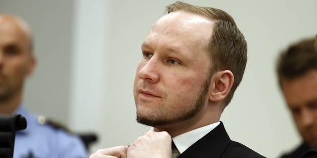 Anders Behring Breivik prêt à mourir de faim s'il n'est pas mieux traité - La DH