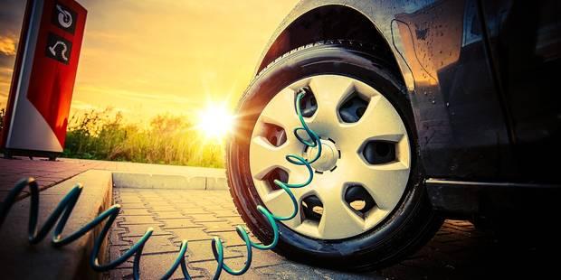 1 Belge sur 4 roule avec des pneus mal gonflés - La DH