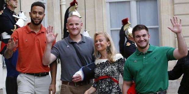 Le gouvernement belge rend hommage aux héros du Thalys à New York - La DH