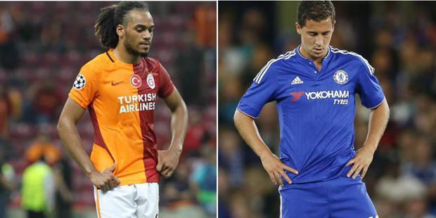 Belges à l'étranger: Hazard fait la moue, Denayer sort blessé et inquiète (VIDEOS) - La DH