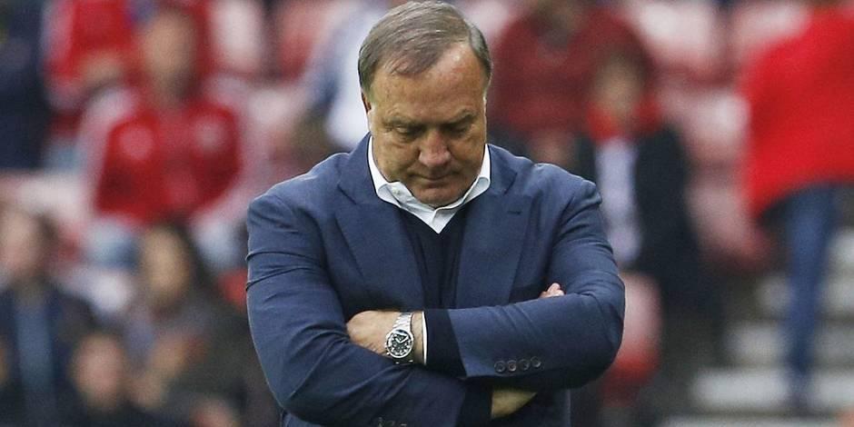 Démission de Dick Advocaat à Sunderland