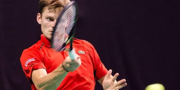 ATP Pékin: Goffin, facile vainqueur de Seppi, qualifié pour le 2e tour - La DH