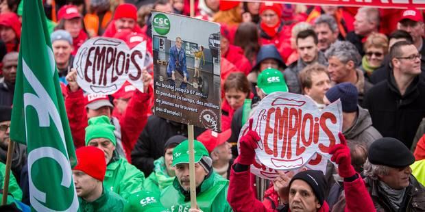 Manifestation nationale : les endroits à éviter (INFOGRAPHIE) - La DH