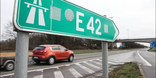 Deux Luxembourgeois se tuent sur l'autoroute E42 - La DH