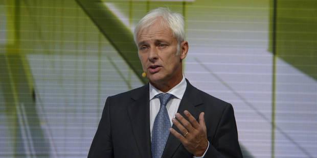 Moteurs truqués: le patron de Volkswagen prépare les salariés à des temps difficiles - La DH