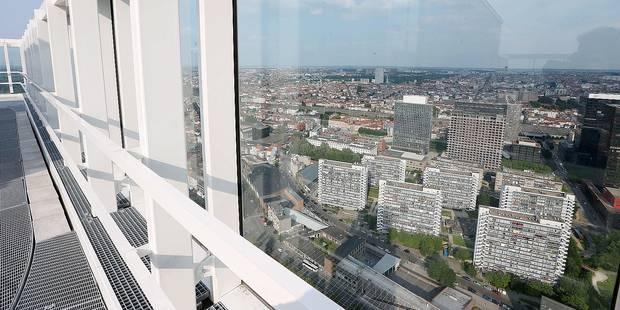 Bruxelles-Ville: la tour Up-Site interdite au public ! - La DH