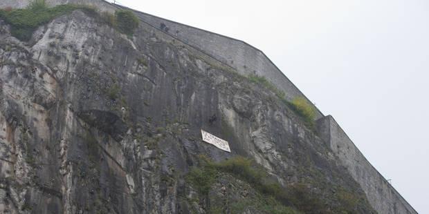 """L'homme suspendu aux rochers de la Citadelle de Dinant: """"Je ne regrette pas ce que j'ai fait"""""""