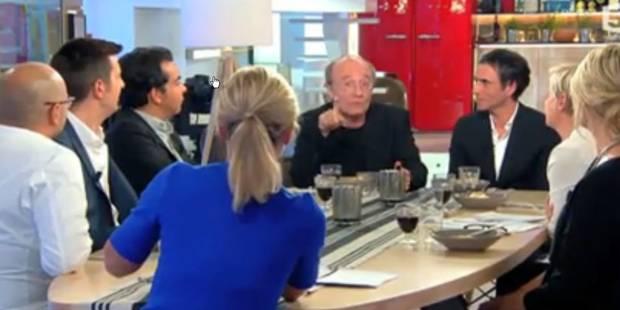 """Geluck pousse un coup de gueule sur le plateau de l'émission """"C à vous"""" (VIDEO) - La DH"""