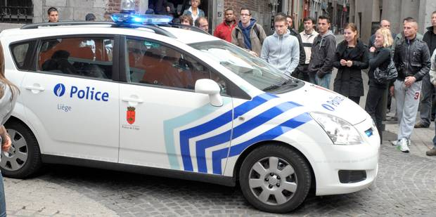 A Liège, une voiture de police mal garée reçoit... un PV ! - La DH