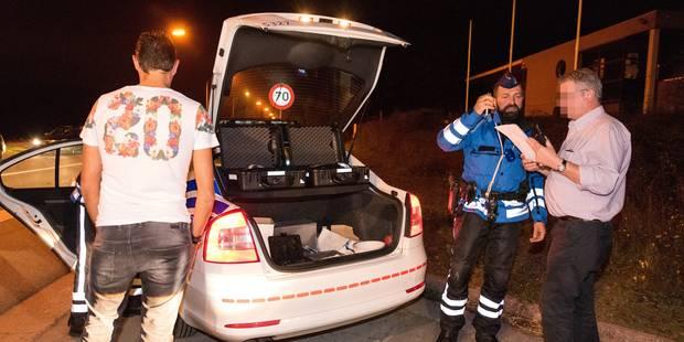 Opération FIPA dans le Hainaut:1558 véhicules contrôlés en huit heures - La DH