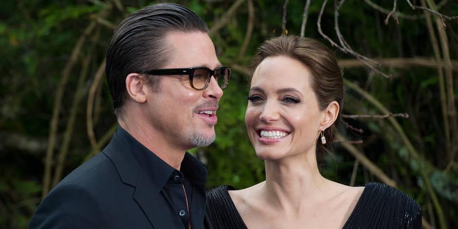 Préoccupé par l'anorexie d'Angelina Jolie, Brad Pitt menace de la quitter