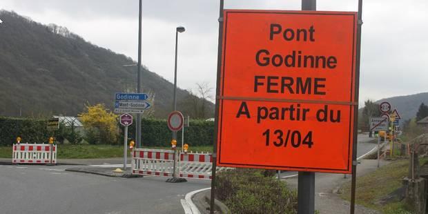 Pont de Godinne : rien avant le printemps 2016 - La DH