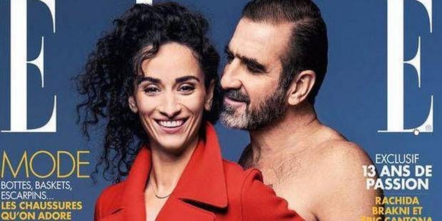 Cantona se met à nu pour Elle - La DH