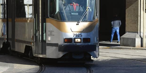 Stib: circulation perturbée sur les lignes de tram 3 et 4 à la suite d'un déraillement - La DH