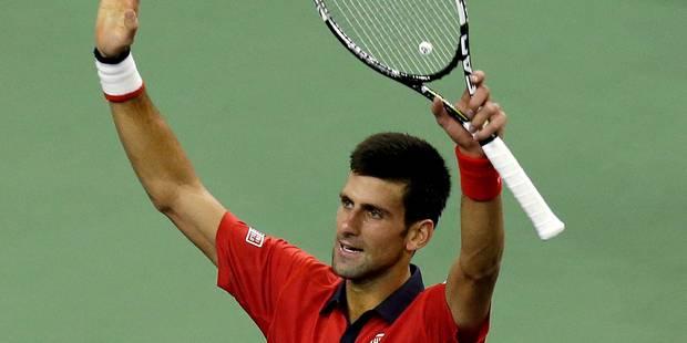 Shanghai: Djokovic en finale contre Tsonga, tombeur de Nadal - La DH