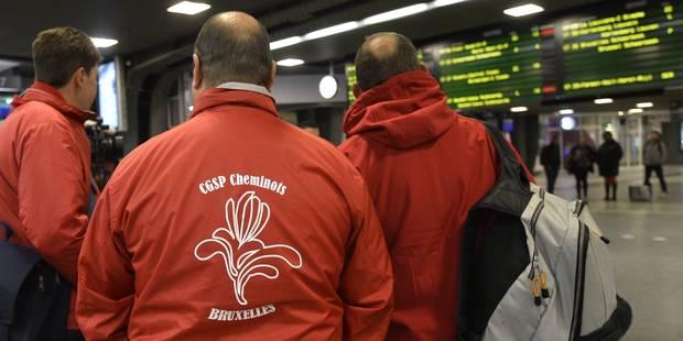 Grève SNCB: le rail belge partiellement paralysé dès ce dimanche soir - La DH