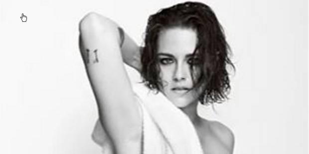Kristen Stewart se met à nu pour Mario Testino - La DH
