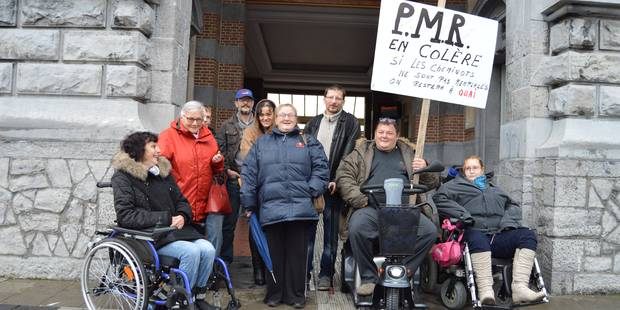 Tournai: les PMR craignent de rester à quai - La DH