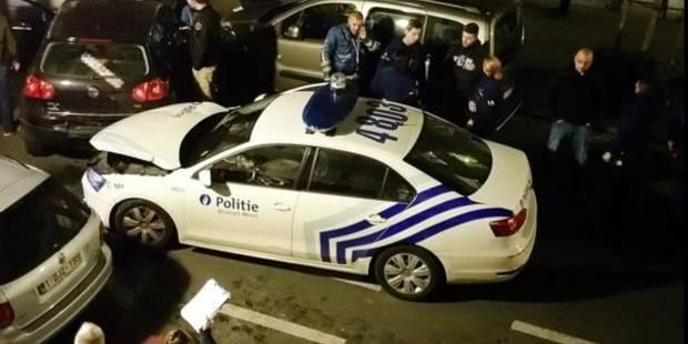 Deux agents blessés dans une course-poursuite à Jette - La DH