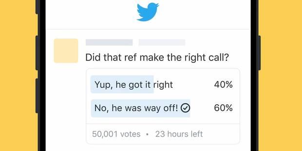Les sondages débarquent sur Twitter (VIDEO) - La DH