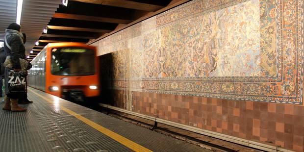 Stib : un rail cassé, la circulation des métros a été fortement ralentie - La DH