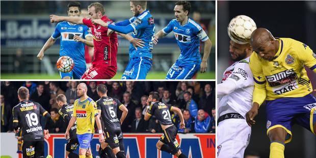 La Gantoise et Ostende font le spectacle, Lokeren laisse le Standard seul à la dernière place - La DH
