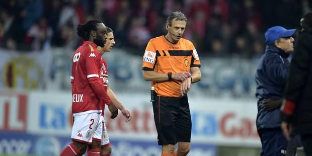 """Wouters après Charleroi - Standard : """"J'ai appliqué le règlement"""" (PHOTOS ET VIDEOS) - La DH"""