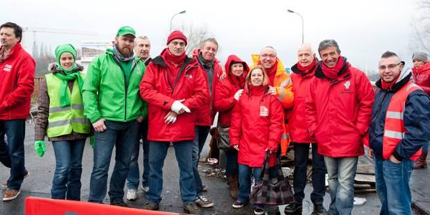 Des actions syndicales en front commun aussi à Mons et La Louvière - La DH