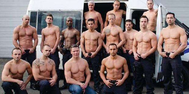 Des policiers bruxellois se mettent à nu et récoltent 20.000€ - La DH