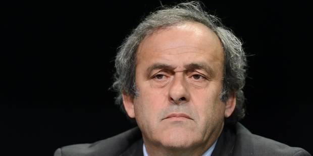 """Platini: """"On veut m'empêcher de me présenter car on sait que j'ai toutes les chances de gagner"""" - La DH"""