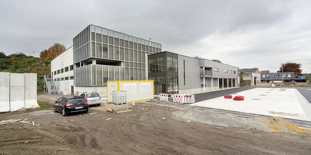 Le hall de sports Michel Daerden est prêt - La DH