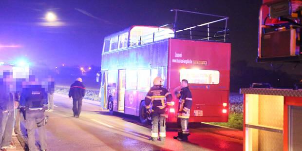 Frasnes-lez-Gosselies: décès du jeune homme grièvement blessé dans un autobus à impériale - La DH