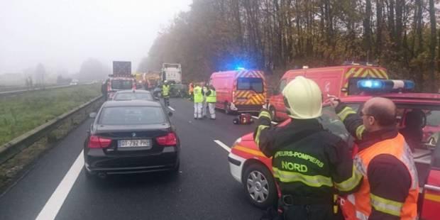 Carambolage mortel à la frontière belge - La DH