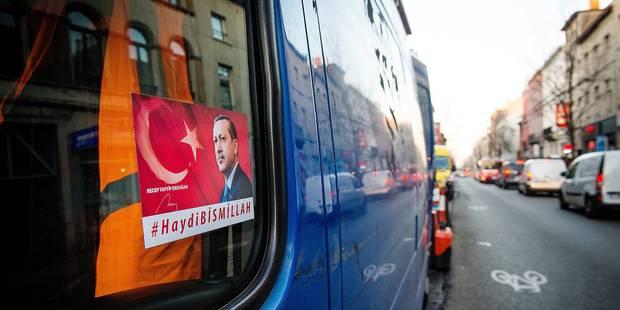 Erdogan cartonne toujours à Bruxelles - La DH