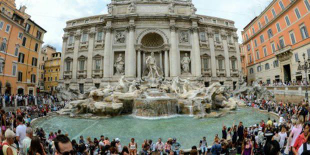 Rome: la fontaine de Trevi restaurée après 16 mois de travaux - La DH