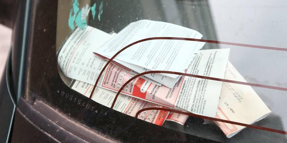 Zone de police Bruxelles Midi: 1 PV sur 3 pas encodé dans la banque de données !