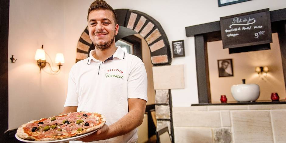 La DH a testé la pizza familiale au feu de bois d'Il Fresco DH be # Pizza Bois Guillaume