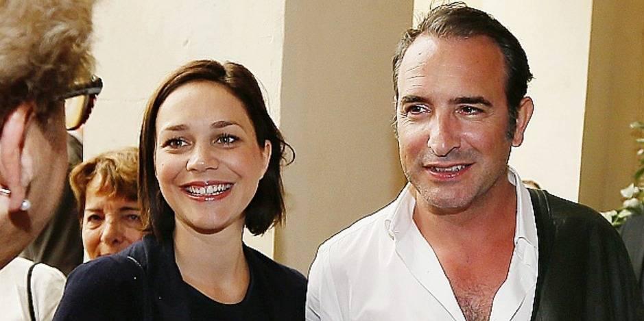 Jean dujardin sera papa d une petite fille la dh for Jean dujardin et sa fille