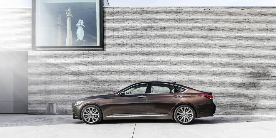 Genesis, une marque de luxe - La DH