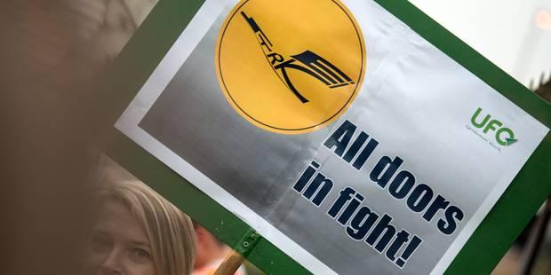 Grève de la Lufthansa: 929 vols annulés lundi - La DH