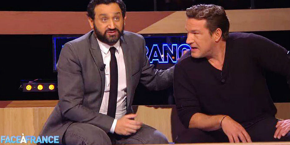 Hanouna - Castaldi: le clash en mousse