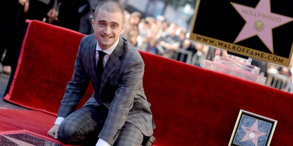 Daniel Radcliffe, alias Harry Potter, inaugure son étoile à Hollywood