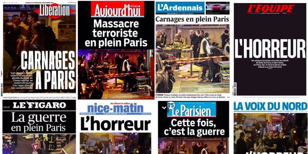 "Revue de presse: ""La guerre en plein Paris"" - La DH"