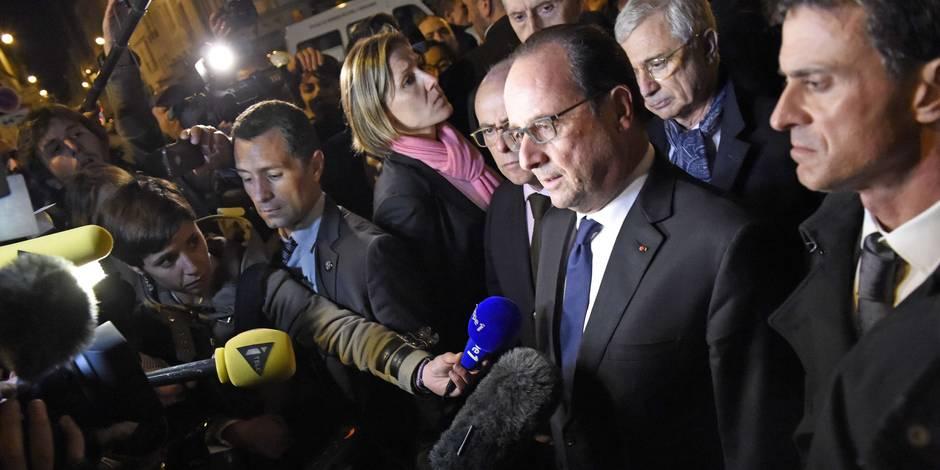Au Stade de France, François Hollande entend une détonation, une seconde