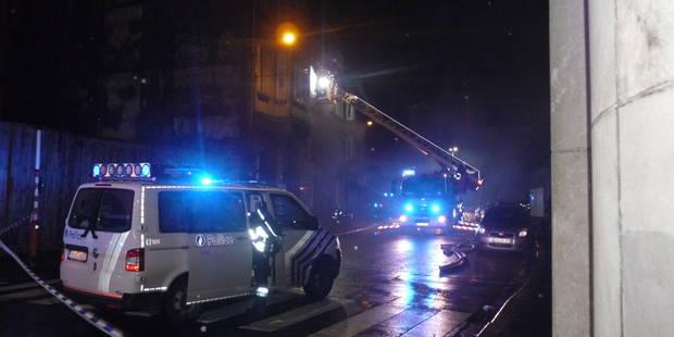 Trois immeubles en feu à Liège - La DH