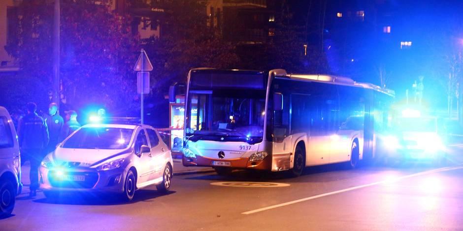Woluwe-Saint-Lambert: tir de projectile sur un bus de la Stib